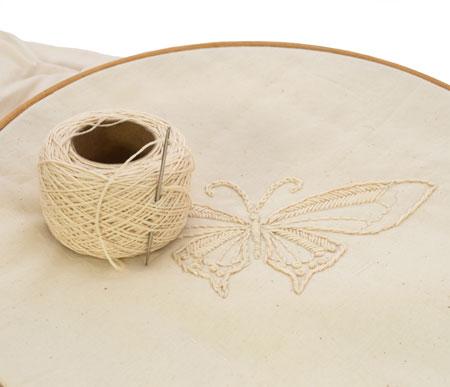 Zakdoek borduren zelf